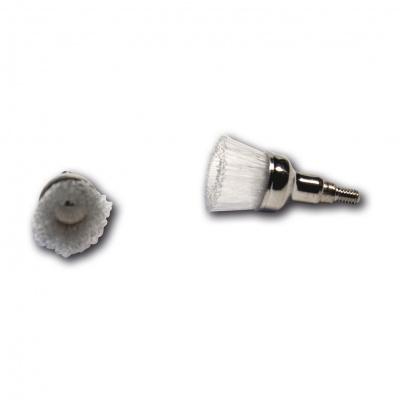 HS-čisticí kartáčky Mini Screw Type, přírodní vl.,12ks