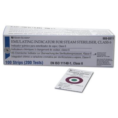 HS-chemický indikátor P, Třída 6, 100pásků (200 testů)