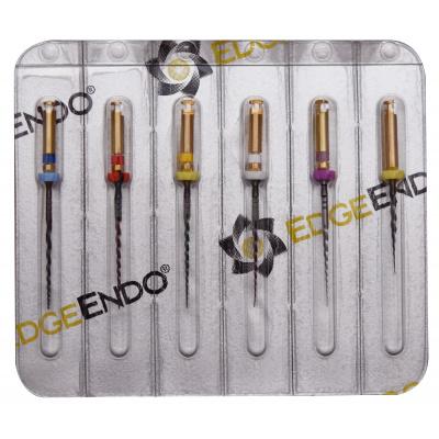 EdgeTaper Platinum STERILE Assort SX, S1, S2, F1, F2, F3 21mm