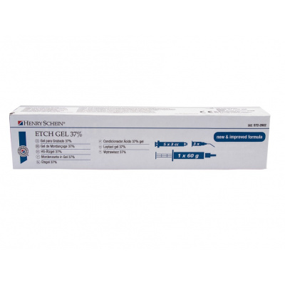 HS-leptací gel 37%, ETCHGEL 12 x 1,2ml + 50 kanyl