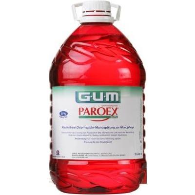 ÚSTNÍ VODA GUM PAROEX s chlorhexidinem 0,12% 5L (bez pumpičky)