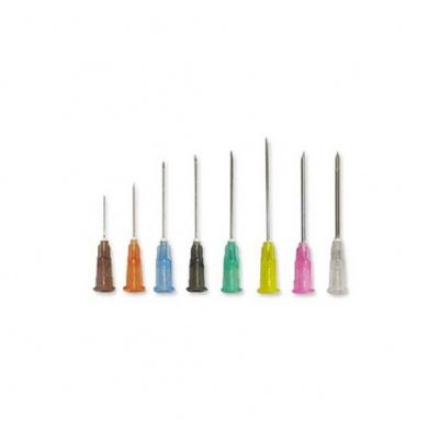 Injekční jehly MICROLANCE, 26G, hnědá 0,45x16 mm, 100 ks