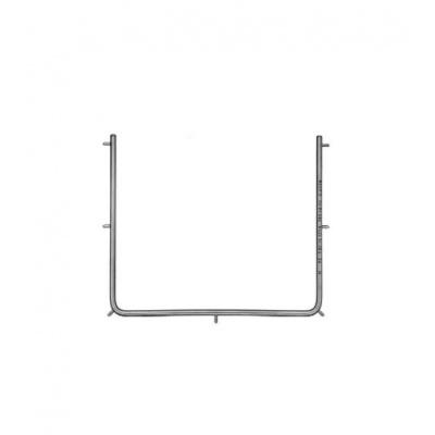 Kofferdamový rámeček kovový, velký, délka 15cm