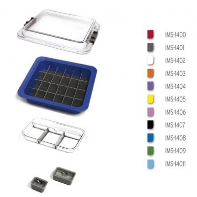 Organizér nástrojů aspotřebního materiálu barva šedá IMS-1401