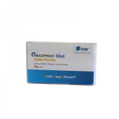 RECIPROC Blue gutaperčové čepy vel.40, černé 60ks