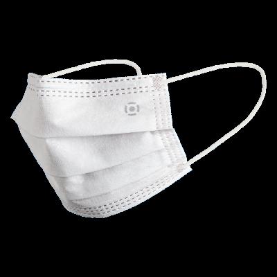 Ústní rouška / Chirurgická obličejová maska bílá, typ IIR, 50ks