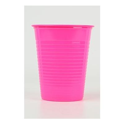 HS-kelímky barevné, růžové, kartón 3000 ks