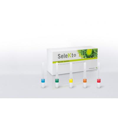 SeleKt+ jehly metric 27G, 0,4x16mm, zelené, 100ks